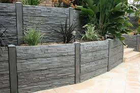 a concrete retaining wall in the adelaide area